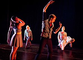 My Choreography Premiered at Oakland University – January 2015